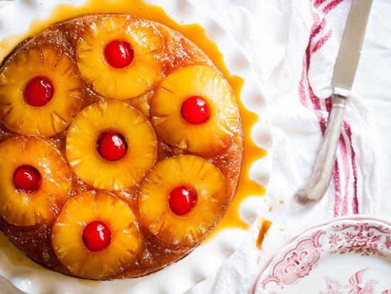 Weight Watchers Pineapple Sponge Cake